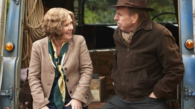 Imelda Staunton Timothy Spal in 'Finding Your Feet'