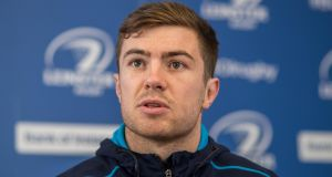 Luke McGrath is in doubt for Ireland's Six Nations clash with Wales on Saturday after the scrumhalf  picked up an injury  playing for Leinster.  Photograph: Tommy Dickson/Inpho