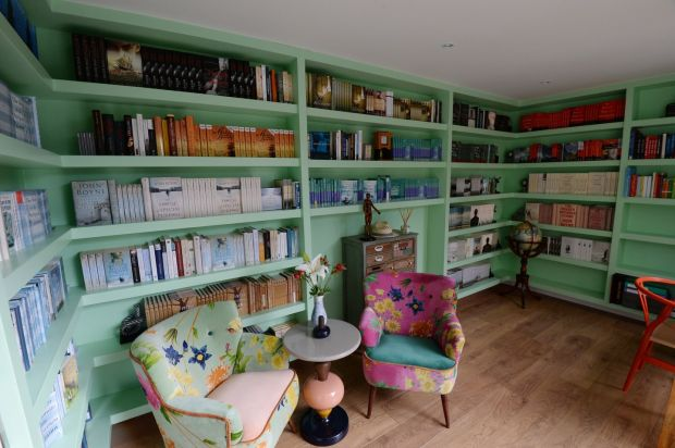 14/02/2018 - NEWS - The Rathfarnham home of Writer John Boyne which he has just renovated with the help interior designer Caroline FlanneryPhotograph: Alan Betson / The Irish Times