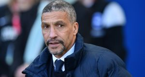 "Brighton  manager Chris Hughton: ""We are on a good run and have a good changing room."" Photograph:  Glyn Kirk/AFP/Getty Images"