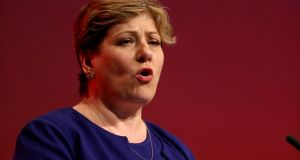 Shadow foreign secretary Emily Thornberry: hinted Labour could back remaining in a European customs union after Brexit. Photograph: Gareth Fuller/PA Wire