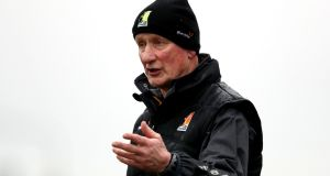 Kilkenny's manger Brian Cody on the sideline during the Allianz Hurling League Division 1A match against Waterford at  Walsh Park. Photograph: Bryan Keane/Inpho