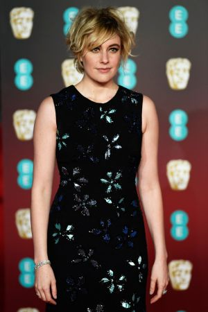 US director Greta Gerwig arriving for the 2018 Baftas. Photograph: Neil Hall/EPA