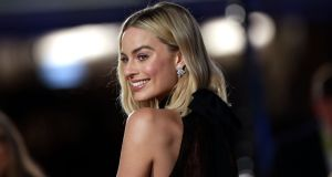 Margot Robbie at the 2018 Baftas. Photograph: Yui Mok/PA