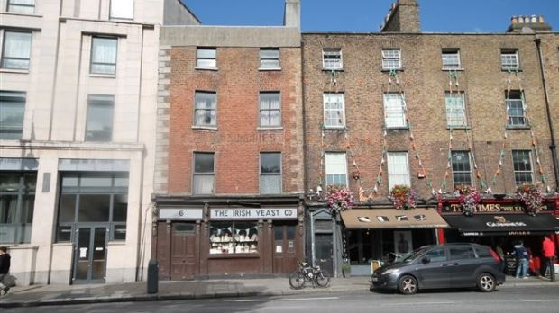 The Irish Yeast Co, 6 College Street, Dublin 2, for sale at €675,000