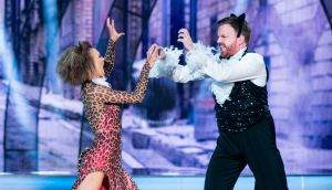 It's the end of dancing for broadcaster and comedian Bernard O'Shea and Valeria Milova. Photograph: Kyran O'Brien/RTÉ