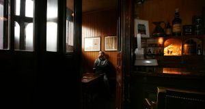 Gerry Nicholson, fourth generation owner of the oldest pub in Sligo, Thomas Connolly. Photograph: Brian Farrell