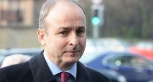 "Fianna Fáil leader Micheál Martin: ""We've no difficulty with the broad principles that inform the plan."""