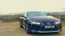 Our Test Drive: the Lexus LC500h