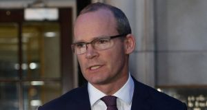 Tánaiste Simon Coveney said people could no longer turn a blind eye to the thousands of  women who have been forced to leave Ireland to get the medical interventions that they need. Photograph: EPA