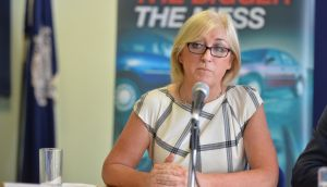 The proposal was put forward a number of years ago by the chief executive of the Road Safety Authority Moyagh Murdock. Photograph: Sara Freund