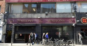 Waltons: the South Great George's Street music shop is moving its business to its Blanchardstown branch. Photograph: Dara Mac Dónaill