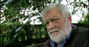 Michael Longley at his home in Belfast. Photograph: Brenda Fitzsimons