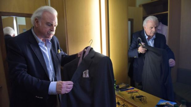 Winning Streak: Marty Whelan in his dressingroom. Photograph: Bryan Meade