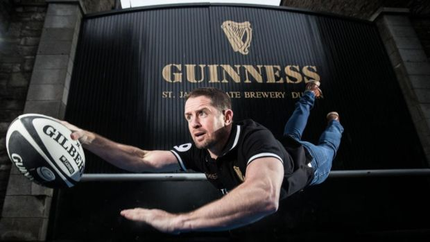 Former Wales winger Shane Williams pictured at the Guinness brewery in Dublin. Photograph: Dan Sheridan/Inpho