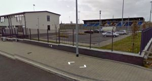 The dispute is over an application by the  secretary of Athlone Town Football Club, to remove  Athlone Stadium Ltd as trustee on the property, which became the new home of the club when it moved from its traditional town centre home at St Mel's to Lissywollen, Athlone. File photograph: Google Street View