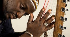Seckou Keita plays the Little Museum of Dublin on Wednesday. Photograph: Andy Morgan