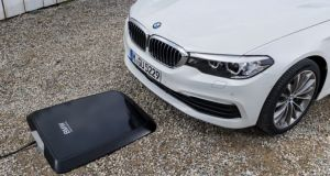 BMW to offer wireless induction charging on 5 Series plug-in hybrid