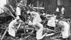 Remembering the heroic Irish nurses of the London Blitz