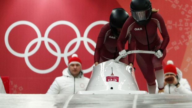 The Olympic Athletes from Russia are made up of those allowed to compete. Photo: Edgar Su/Reuters