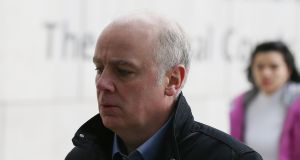 Former Anglo Irish  Bank chief executive David Drumm:  has pleaded not guilty. Photograph: Collins Courts