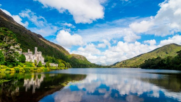En Plein Air at Kylemore Abbey: while the focus is on landscape art, the course has also been designed to create a holistic cultural, educational and immersive experience. Photograph: Getty Images