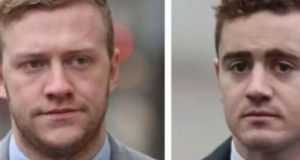 Stuart Olding (24), of Ardenlee Street, Belfast, denies one count of rape. Paddy Jackson (26), of Oakleigh Park, Belfast has pleaded not guilty to rape and sexual assault in the early hours of June 28th, 2016 at a party in his house. Both men contend the activity was consensual.
