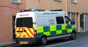 The ambulance crew had been responding to a 999 call from the defendant's next-door neighbour in Stoke-on-Trent. Photograph: iStock