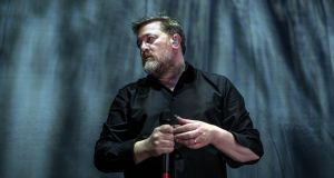 Elbow's Guy Garvey performs at The Hammersmith Apollo in London. File photograph: Rob Ball/WireImage