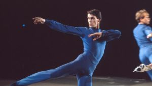 The Ice King: before Eric Radford there was John Curry. Photograph: Christie Jenkins/courtesy Dogwoof