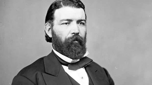John Morrissey was elected to the House of Representatives in 1866 representing New York's fifth district. Photograph: Mathew Brady/Wikicommons