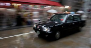 Non-professional drivers are barred from offering taxi services on safety grounds in Japan. Photograph: Thomas White/Reuters