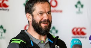 "Andy Farrell: ""If something is not up to scratch and it is not good enough you need to be honest about that."" Photograph: Laszlo GeczoInpho"