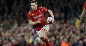 Dan Biggar: the outhalf's return should improve Wales' aerial game.  Photograph: Billy Stickland/Inpho