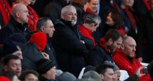 This will be Warren Gatland's 100th game in charge of Wales, but he played this down on Tuesday. Photograph: Paul Childs/Reuters