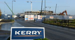 Kerry Group fell 4.6%  to €81.80 on the Irish market as investors had anticipated the group would outperform more than it did. Photograph: Dara MacDonaill