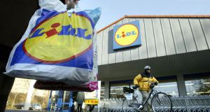 In 2000, Lidl had less than 10 Irish suppliers: the number now stands at in excess of 200. Photograph: Thomas Lohnes/AFP/Getty Images