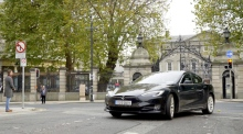 How does the electric Tesla Model S fare in Ireland?