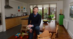 Architect Dermot Bannon  at home in Drumcondra,  Dublin. Photograph: Eric Luke