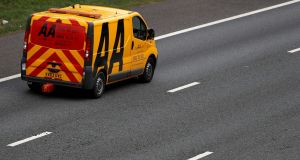 An AA recovery vehicle: AA Ireland is not part of AA plc, having become a separate company in 2016.
