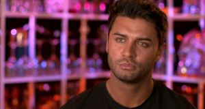 'Muggy' Mike Thalassitis: Lacks any kind of charisma or even a vague personality beneath his shark-like veneers and Ken doll hair.  Photograph: Channel Four