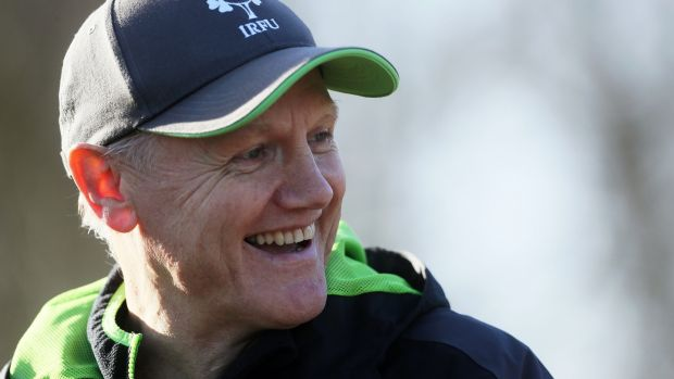 Ireland's coach Joe Schmidt: will move into joint second place on the all-time Irish coaches list with Wales match. Photograph: PA