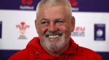 Wales coach Warren Gatland: took outright possession of the world record for a head coach in terms of Test matches against Tier 1 countries at Twickenham.  Photograph:  Catherine Ivill/Getty Images