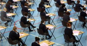 A major review of the Leaving Cert which got underway this week is a welcome, and long overdue, development. Photograph: Dara Mac Dónaill