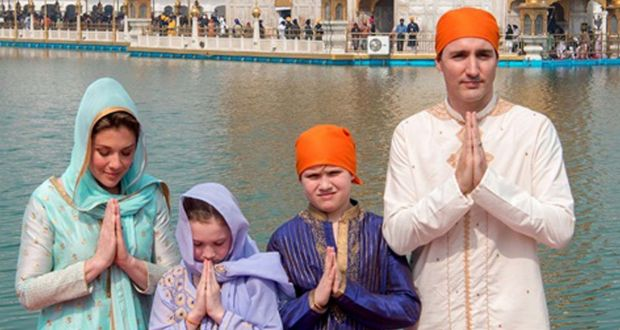 justin trudeau s visit to india overshadowed by sikh issue