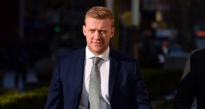 Ulster and Ireland rugby player Stuart Olding: defence witness Dr Janet Hall raised concerns about medical evidence given to the court on Tuesday. Photograph: Pacemaker