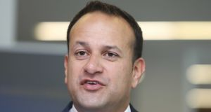 Leo Varadkar: told Dáil the pain-relief patch was being prescribed in Ireland for a use for which it was not licensed. Photograph: Leah Farrell/RollingNews.ie