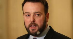 "Belfast Agreement: SDLP leader Colum Eastwood said a proposal to end the powersharing requirement was more than the ""tinkering"" its advocates claimed. Photograph: Niall Carson/PA Wire"
