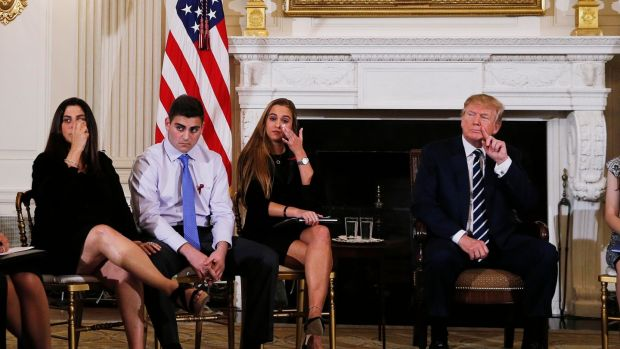 Donald Trump suggests arming teachers with guns to stop school shootings
