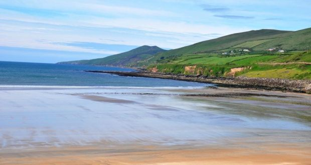 Inch Beach In Co Kerry